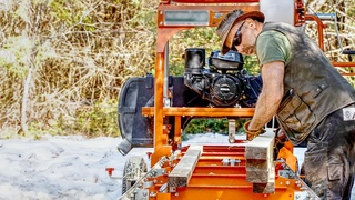 Milling Lumber for the New Off Grid Log Cabin and Wilderness Homestead