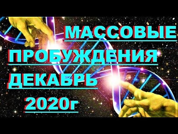 ✔ *ВАЖНО* Массовые пробуждения декабря 2020 г