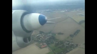 THE SIGHT & THE SOUND 3/5 : Flying Dandy AN-24 sightseeing flight from Leipzig to Leipzig