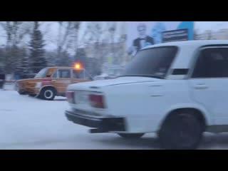 Кубок главы Саткинского района по зимнему дрифту🚘💨