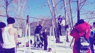 Открытие Сезона по (Street Workout Хабаровск-Биробиджан)  #workout #спорт #турники #трюки #мотивация