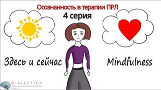 Мультфильм о ПРЛ. 4 серия: осознанность   mindfulness   здесь и сейчас