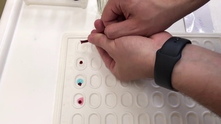 Определение группы крови донора по системе АВ0 и Rh
