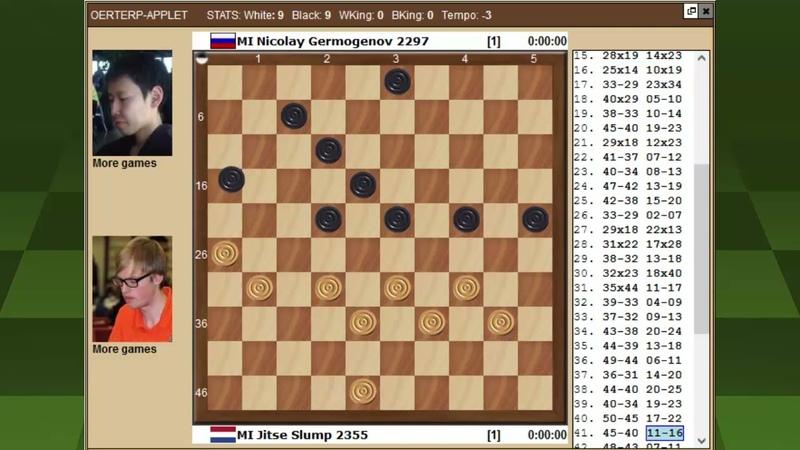 Слюмп Гермогенов Чемпионат Мира по международным шашкам 2021