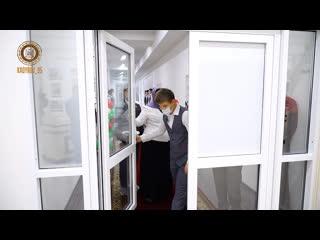 Открытие  музея памяти Первого Президента ЧР, Героя России Ахмата-Хаджи Кадырова.