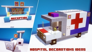 Top 5 minecraft hospital builds (ideas)
