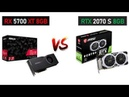RX 5700 XT vs RTX 2070 Super i5 9600k Gaming Comparisons