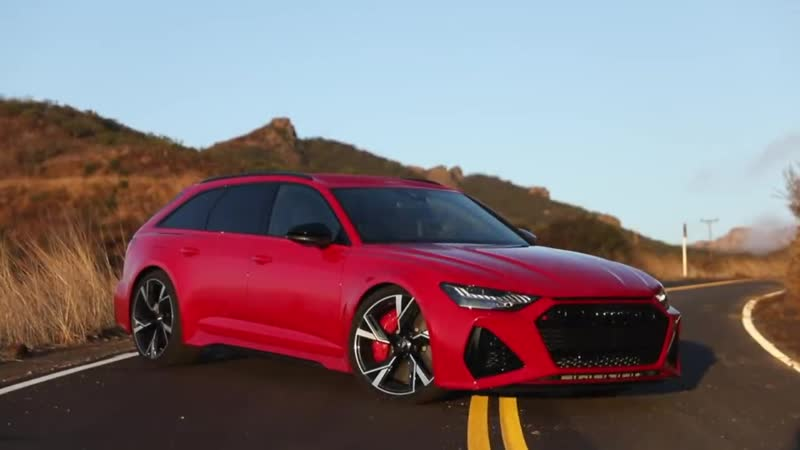 2020 AUDI RS6 AVANT FIRST REAL TEST 3 48 SEC 100KMH Best RS6 ever In deta