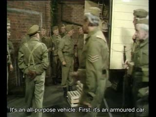 S03E01 The Armoured Might Of Lance Corporal Jones EN SUB