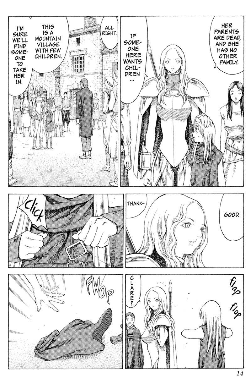 Claymore, Chapter 16, image #13