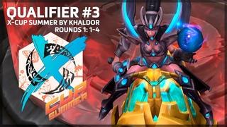 Скрытый захват наемников   X-Cup Summer - Q3 - Round 1: 1-4   Heroes of the Storm (HotS, ХотС)