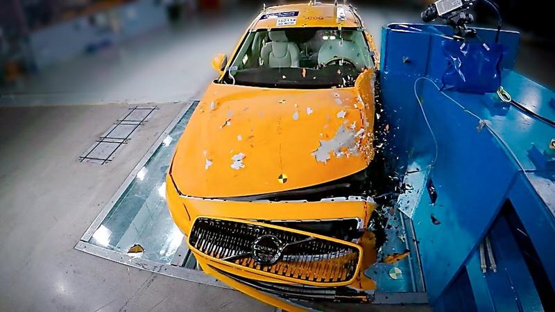 2021 Volvo S90 V90 Crash Test The Safest Car on the Market