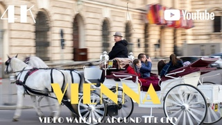 VIENNA Walking Europe Dji Osmo Pocket 4k Austria 🇦🇹
