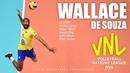 Wallace de Souza Monster 3rd meter Spikes VNL 2018 ᴴᴰ