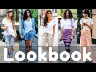 Summer white tshirt outfit ideas / tshirt dresses | fashion lookbook 2018