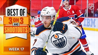 Best 3-on-3 Overtime and Shootout Moments from Week 17 | NHL