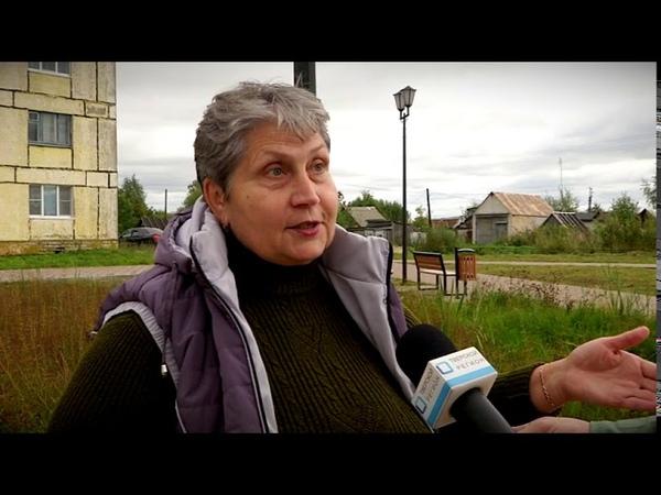 Болото вместо парка устроили чиновники в деревне Рязаново