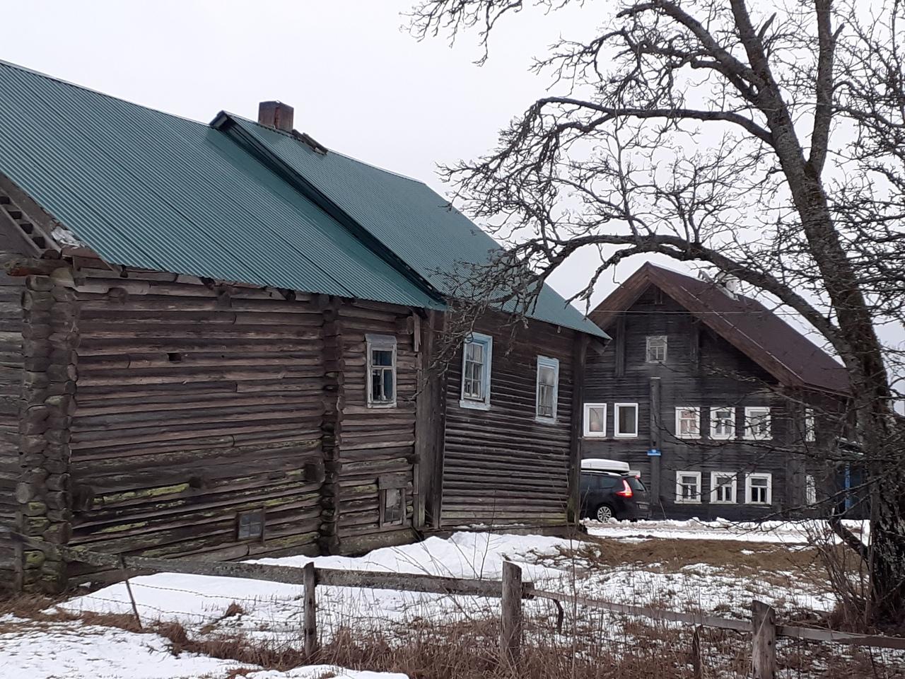 Олонецкий район Карелии. Традиционная карельская деревня Большая Сельга и старинный город Олонец