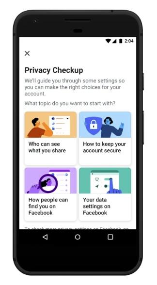 Facebook обновляет свой инструмент «Проверка конфиденциальности», изображение №1