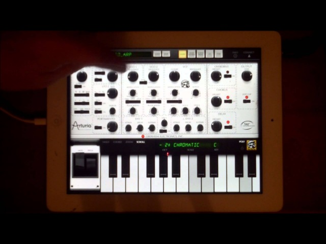 ISEM from Arturia preset demo and review for iPad