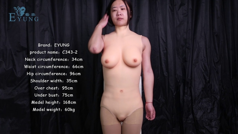 EYUNG new Swimsuit style catsuit Vaginal permeable liquid silicone filled breasts