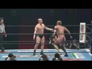 [#My1] Kazuchika Okada's dropkick tribute