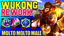 ITA WUKONG REWORK RIOT MA CHE C**** AVETE FATTO Wukong Rework Jungle League Of Legends
