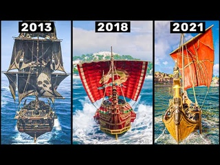Evolution of SHIP in Assassin's Creed Games (2007-2021)