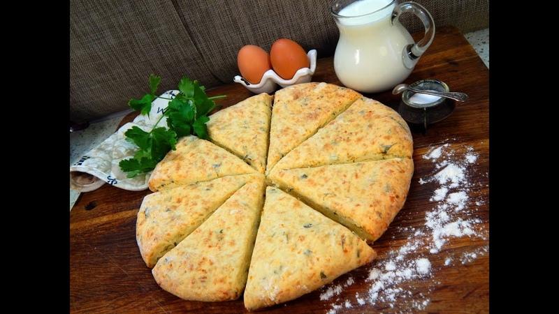 За хлебом можно больше не ходить Быстрые лепешки вместо хлеба