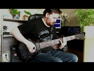 Rammstein - Feuer Frei (8 string w/solo) (cover by Randall Harrell)
