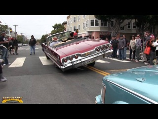 Sunday Streets/Summer Cruise in San Francisco, Ca. 7/28/2013