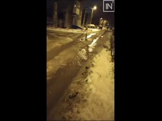 Коммунальная авария в Первоуральске