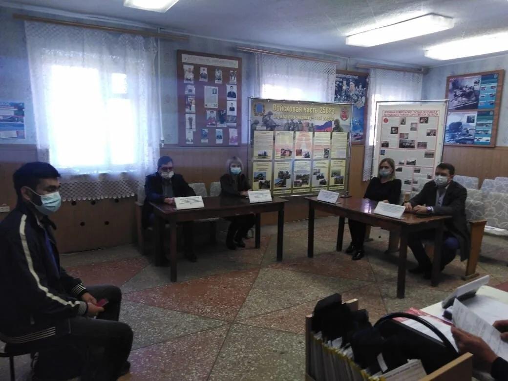 В Петровском районе стартовал осенний призыв в армию