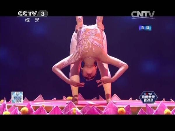 2013年我要上春晚 杂技《春花烂漫》 广东代表队| CCTV春晚