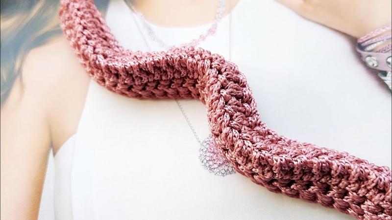 Бомбическая идея вязания трёхгранного жгута крючком 👍 crochet pattern