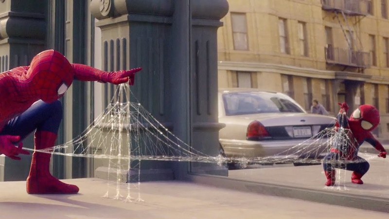 THE AMAZING SPIDER-MAN 3 Evian Baby me 2 Official Spot [HD].