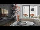 Дизайн квартиры с настоящим КАМИНОМ для холостяка. 130кв.м. Room tour