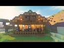 Как построить дом в Майнкрафт для выживания / How to build a Minecraft for survival