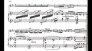 Phillipe Gaubert - Fantaisie for Clarinet and Piano (1911) [Score-Video]