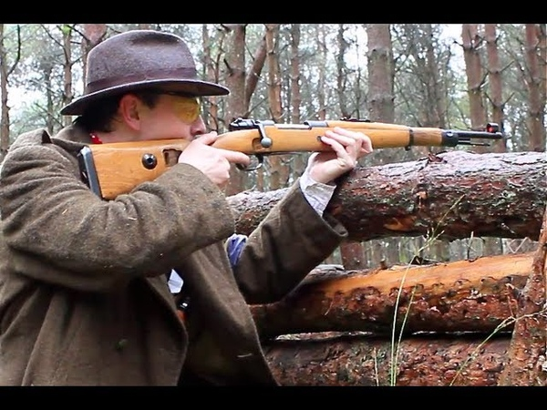 AIRSOFT KAR98K Sniper Gameplay Detonics 45 Scotland HD