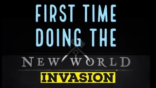 New World Preview - FIRST TIME INVASION of the CORRUPTED! AWESOME DEFENSE RUN