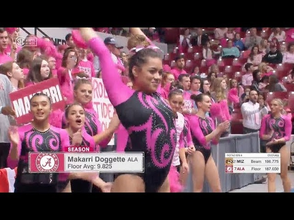NCAA Gymnastics Missouri at Alabama 2020
