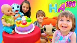 Hayal Ailesi ve Bianka ile eğlenceli video! Aile oyunu