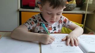 Самый быстрый способ научить ребенка правильно держать ручку, карандаш!