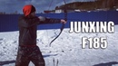 Тигр в Сибирском Лесу Краткий обзор лука Junxing F185