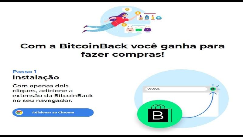 BitcoinBack - Ganhe Bitcoins de graça por cada compra online | Cashback em Bitcoin - Renda Extra
