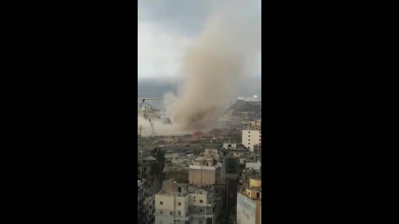 Смерч в Бейруте Ливан 21 10 2020