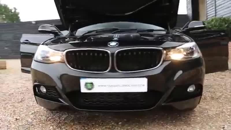 BMW 330d M Sport Gran Turismo 3.0 TwinPower Turbo Automatic in Sapphire Black