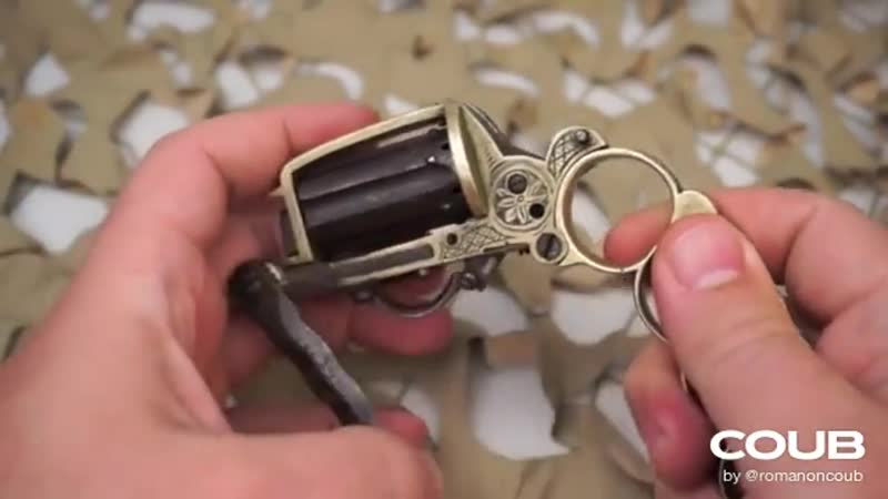 Apache Knuckle Duster Revolver