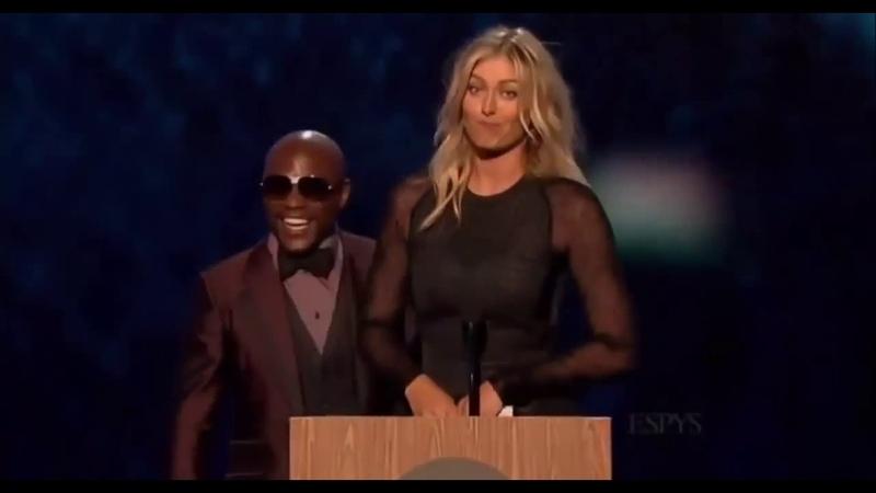 Мария Шарапова и Флойд Мэйвезер на церемонии ESPY Awards